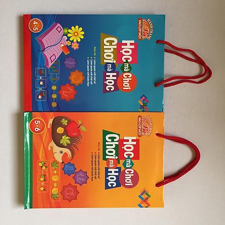 Combo Túi Hành Trang Cho Bé Vào Lớp 1 (4-5 tuổi) - (5-6 tuổi)
