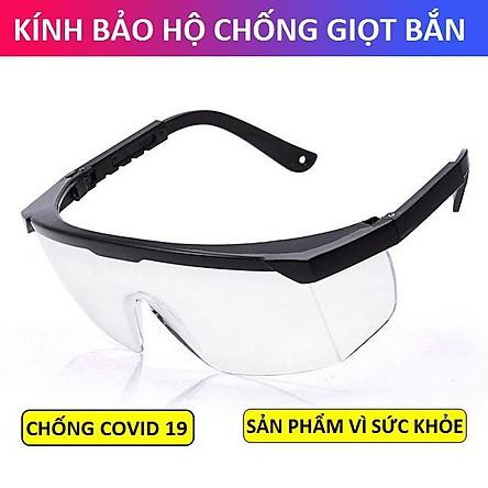 Kính bảo hộ bảo vệ mắt chống tia UV và khói bụi, mắt kính chống giọt bắn dành cho cả nam và nữ 060