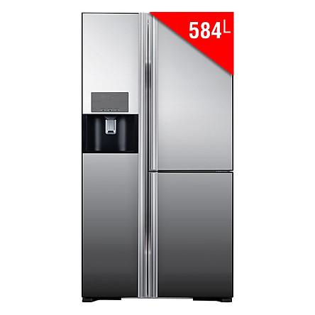 Tủ Lạnh Side By Side Inverter Hitachi R-M700GPGV2X (584L) - Hàng chính hãng