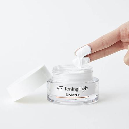 Kem Dưỡng Tái Tạo Và Trắng Da Dr. Jart V7 Toning Light 50ml (Hàng Nhập Khẩu Từ Hàn Quốc)
