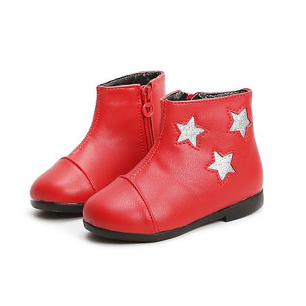 Giày Bốt Bé Gái 1 - 5 Tuổi Kiểu Hàn Quốc GC43