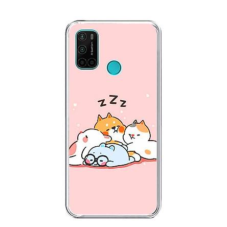 Ốp lưng điện thoại VSMART JOY 4 - Silicon dẻo - 0047 SLEEP - Hàng Chính Hãng