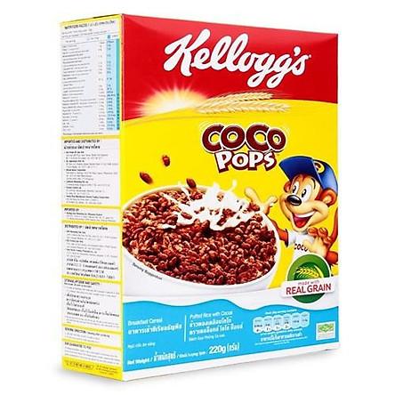 """[Chỉ Giao HCM] - Thức ăn ngũ cốc Kellogg""""s Coco Pops - hộp 220gr"""
