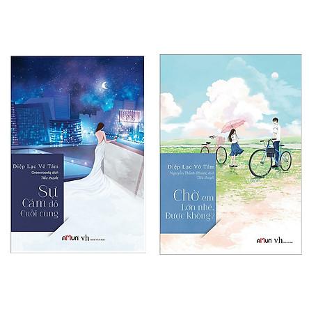 Combo Sách Hay: Chờ Em Lớn Nhé Được Không? + Sự Cám Dỗ Cuối Cùng (Bộ 2 Cuốn Tiểu Thuyết Trung Quốc Ăn Khách Nhất 2019 / Tặng Kèm Bookmark Happy Life)