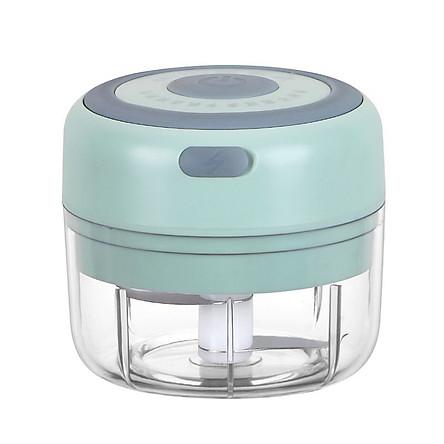 Mini Garlic Grinder Electric Garlic Chopper Cordless Food Fruit Vegetable Blender Kitchen Gadgets 100ML USB Rechargeable
