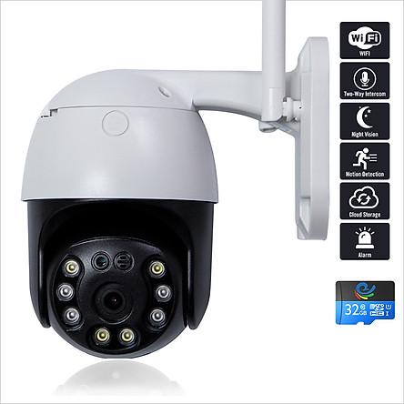 Camera IP – Camera Wifi Quan Sát CC8031 Ngoài Trời Đàm Thoại 2 Chiều 3.0Mpx 2304x1296P, Xoay 360 Độ Kèm Thẻ Nhớ 32Gb – Chính Hãng