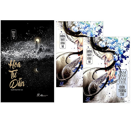 Combo 2 Quyển: Tam Sinh Tam Thế - Chẩm Thượng Thư (Tái Bản 2020)+Hoa Tư Dẫn (Tái Bản 2020)