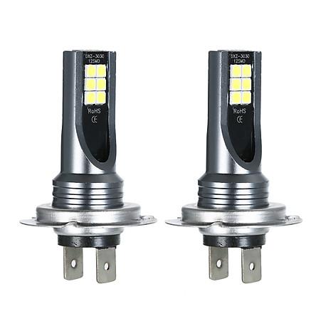 H7 Car LED Fog lights 200W Headlight Bulbs Kit 6000K White Running Light HID Decoder Fog Bulbs