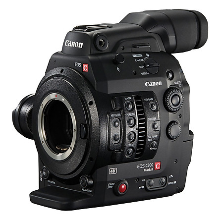 Máy Quay Canon EOS C300 MK II - Hàng Chính Hãng