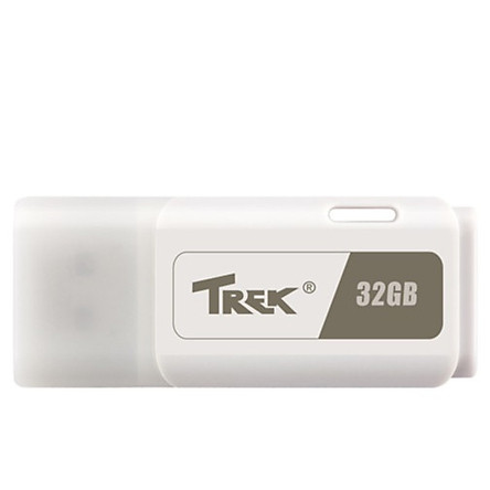 USB Trek 32GB ThumbDrive TDWHITE USB 2.0 - Hàng Chính Hãng