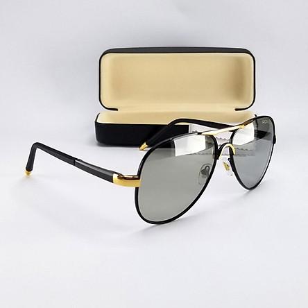 Mắt kính mát nam nữ đổi màu dùng cả ngày và đêm, tròng Polaroid phân cực. Mã DKY8503DM