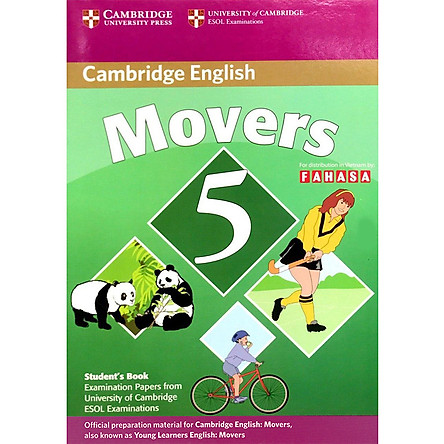 Cambridge Young Learner English Test Movers 5: Student Book