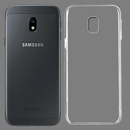 Ốp lưng cho Samsung Galaxy J7 Pro - Dẻo trong suốt