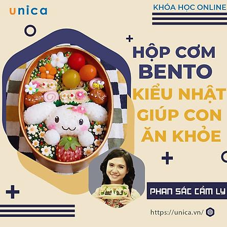 Khóa Học Bento - Con Ăn Khỏe, Cả Nhà Vui Vẻ