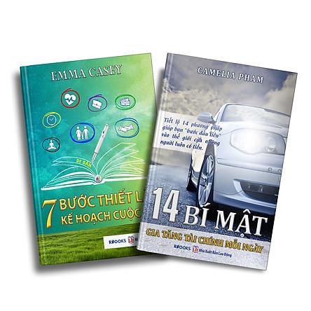 Bộ Sách Kỹ Năng Quản Lý Thời Gian Và Gia Tăng Tài Chính: 14 Bí Mật Gia Tăng Tài Chính Mỗi Ngày + 7 Bước Thiết Lập Kế Hoạch Cuộc Đời