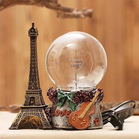 Quả Cầu Plasma Tháp Eiffel Độc Đáo Trang Trí Bàn Làm Việc, Phòng Khách
