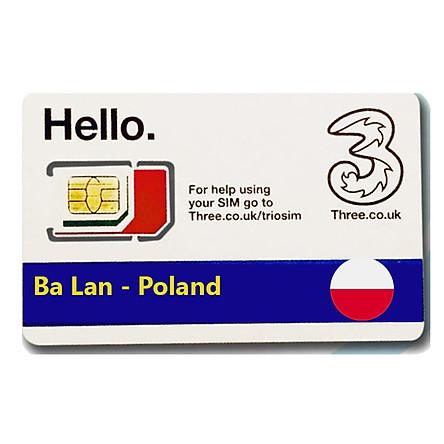 Sim Du lịch Ba Lan - Poland 4G tốc độ cao