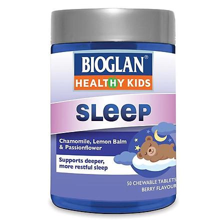 Bioglan Kids Sleep Chewable 50 Tablets NEW FORMULA
