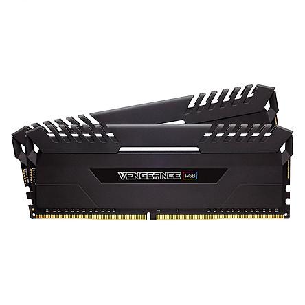 Bộ 2 Thanh RAM PC Corsair Vengeance RGB 8GB DDR4 3000MHz LED RGB - Hàng Chính Hãng