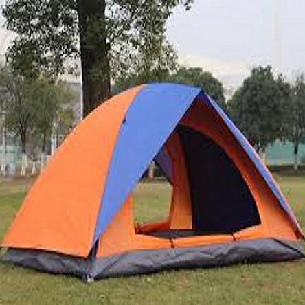 Lều dã ngoại 2 lớp ( cam xanh)