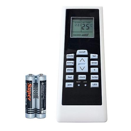 Remote Điều Khiển Dùng Cho Máy Lạnh, Máy Điều Hòa ELECTROLUX RG01/BGCEF (Kèm Pin AAA Maxell)