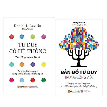 Combo Sách Kĩ Năng Kinh Doanh: Bản Đồ Tư Duy Trong Công Việc (Tái Bản 2018) + Tư Duy Có Hệ Thống (Tái Bản 2018)