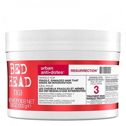 Dầu hấp tóc Tigi đỏ số 3 Urban Anti+Dotes Resurrection Treatment Mask 3