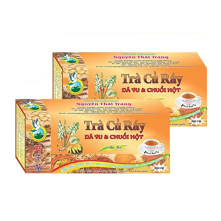 Combo 5 Hộp Trà Củ Ráy Hỗ Trợ Bệnh Gout (Hộp 30 Túi Lọc X 4g)- Nguyên Thái Trang – Thảo Dược Thiên Nhiên – Tốt Cho Sức Khỏe