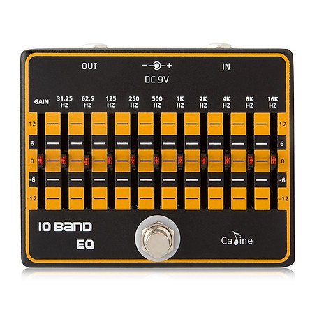 CP-24 10-Band Equalizer Electric Guitar Effects Pedal String Instrument Maintain Spare Parts for Beginner or Musician