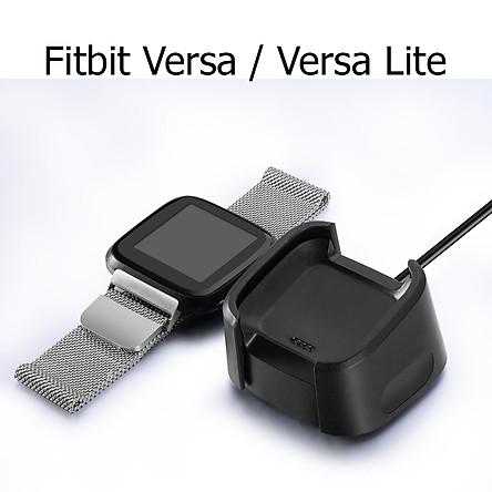 Dây Cáp Sạc Thay Thế Dành Cho Đồng Hồ Thông Minh Fitbit Versa / Versa Lite Dài 1 Mét