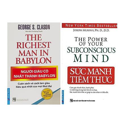 Combo Người Giàu Có Nhất Thành Babylon Và Sức Mạnh Tiềm Thức (Tái Bản)