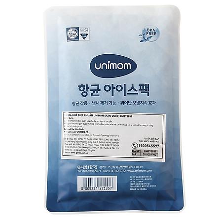 Túi Đá Khô Diệt Khuẩn Unimom UM871857 (12 x 18 cm)