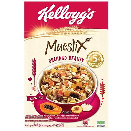 [Chỉ Giao HCM] - Bánh ăn sáng Kellogg's Mueslix hộp giấy 375g- 03230