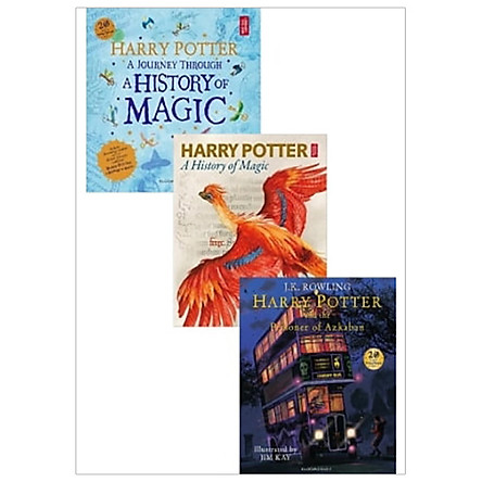Combo Harry Potter - A Journey Through A History Of Magic - The Book Of The Exhibition - The Prisoner Of Azkaban