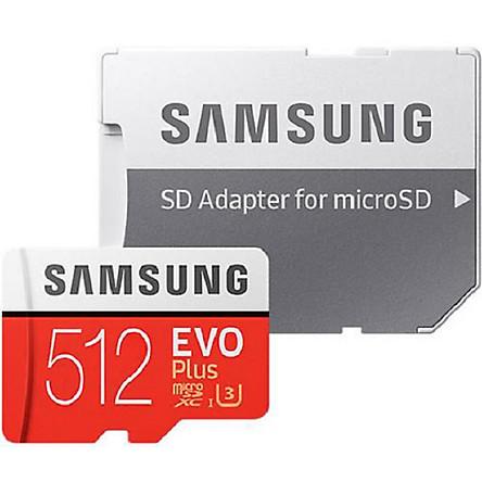 Thẻ Nhớ Micro SDXC Samsung Evo Plus 512GB U3 100MB/s (Box Anh New 2020) - Hàng nhập khẩu
