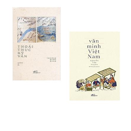 Combo 2 cuốn sách:  Thoái thực ký văn + Văn minh Việt Nam