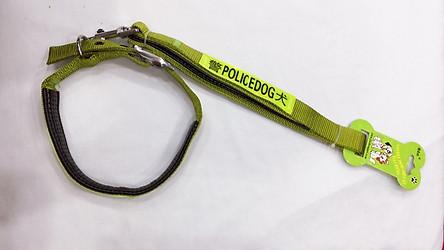 Bộ dây và vòng cổ cho chó Police size 2cm