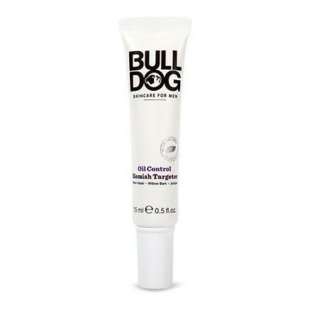 Kem ngừa mụn BullDog Oil Control Blemish Targeter 15ml