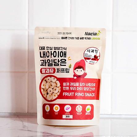 Bánh gạo tròn ăn dặm Naeiae 40g/gói nhiều hương vị