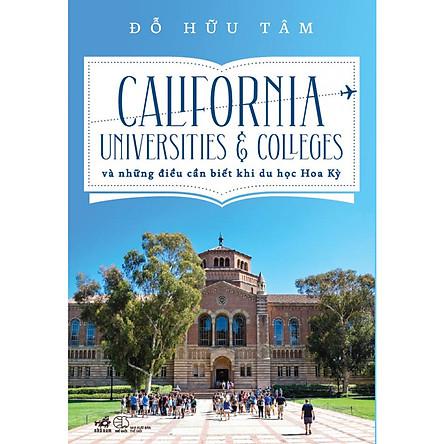 California Universities & Colleges Và Những Điều Cần Biết Khi Du Học Hoa Kỳ