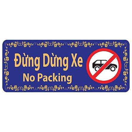 Bảng Chỉ Dẫn Đừng Dừng Xe - BD-016 (Xanh)
