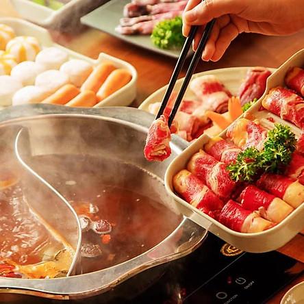 Buffet Lẩu Rakuen Hotpot Menu 259k
