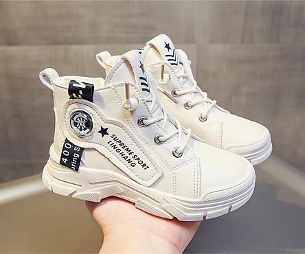 Giày Boot cho bé gái phong cách hàn quốc EB005