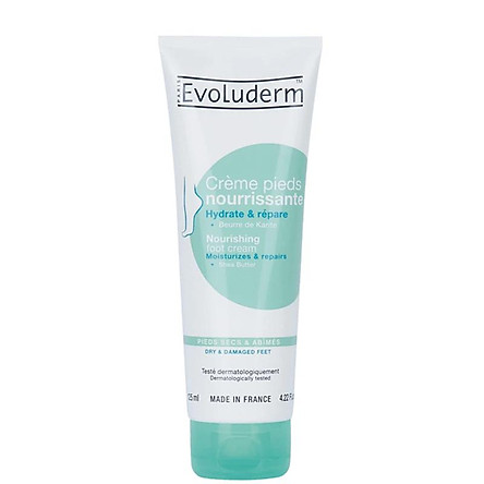 Kem dưỡng da chân Evoluderm chiết xuất bơ hạt mỡ - 125ml