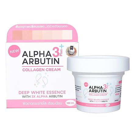 Kem dưỡng trắng da mặt Alpha Arbutin 3 Plus 100ml Thái Lan