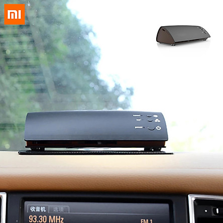 Xiaomi Ecological Chain Photocatalyst Purifier Mini UV Disinfection Aroma Purifier Car Air Conditioner Aromatherapy Freshener Diffuser Household Desktop Sterilization Deodorization Air Circulation Purifier With Non-slip Base