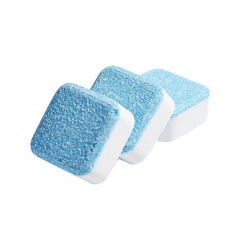 Viên Khử Sạch Lồng Máy Giặt, Khử Cặn Bình, Vệ Sinh Bể Tấm Máy Giặt Sạch (Hộp 06 viên)