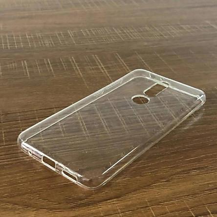 Ốp lưng silicon dẻo trong suốt Loại A cao cấp cho Nokia 5.1 Plus