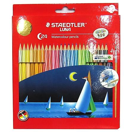 Chì Màu Nước 24 Màu - Staedtler Luna 137 10 C24