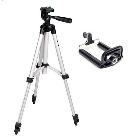 Giá đỡ tripod 3 chân chụp hình điện thoại, máy ảnh TH0012